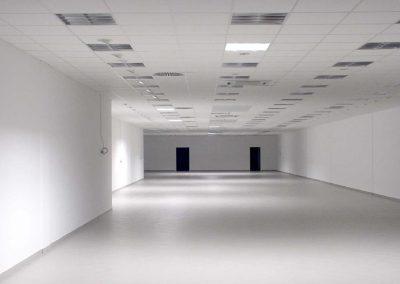 Renovierter Raum