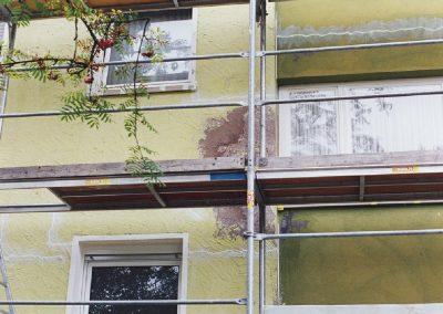 Fassadenausbesserung