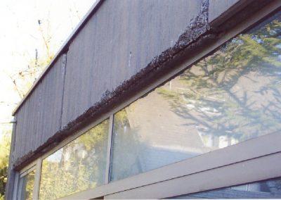 Betonsanierung - Typische Schäden am Beton - hier an einem Fenstersturz