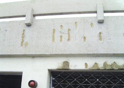 Betonsanierung - Typische Schäden am Beton - hier eine Tiefgarage