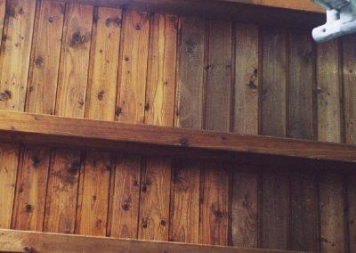 Holzaufrischung
