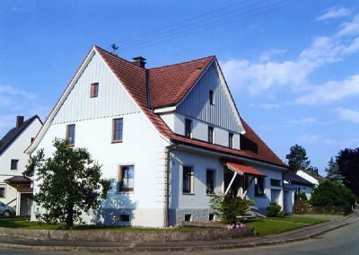 Haus nach Fassadenerneuerung