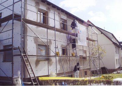 Fassadendämmung - Wärmedämmung