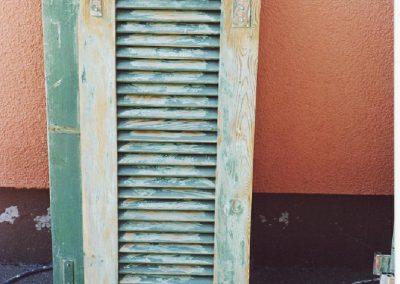 Holz Fensterladen