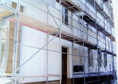 Wärmedämmung - Fassadendämmung